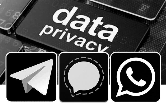 wa versus telegram vs signal perbandingan
